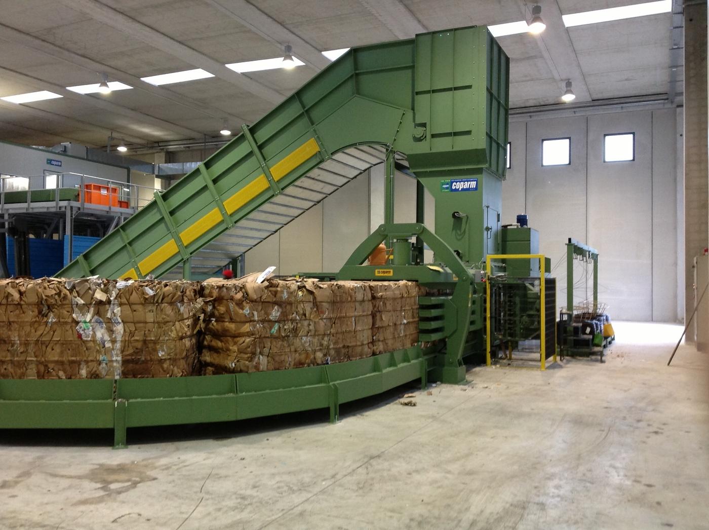 Prensas industriales prensas para residuos prensas para for Presse idrauliche usate per officina